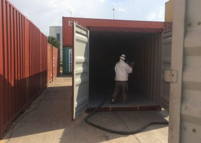 Protección containers
