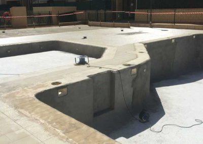 Imprimacion piscina,terraza