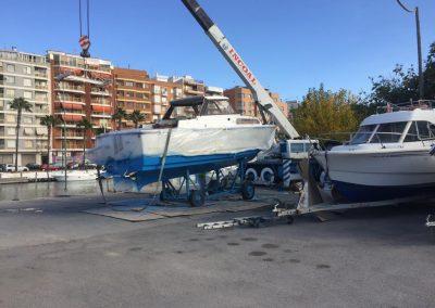Tratamiento antifouling barcos