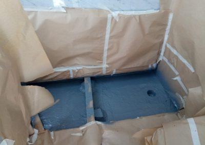 Impermeabilizacion azotea casa Santiago Calatrava