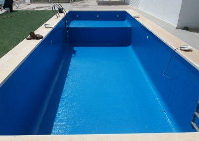 Finalizacion de piscina